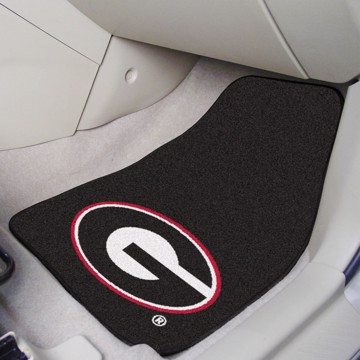 Picture of Georgia (UGA) 2-Piece Carpet Car Mat Set