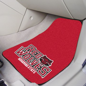 Picture of Arkansas State Carpet Car Mat Set