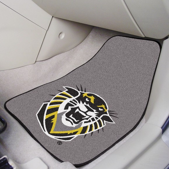Picture of Fort Hays State 2-Piece Carpet Car Mat - Set