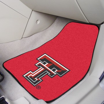 Picture of Texas Tech Carpet Car Mat Set