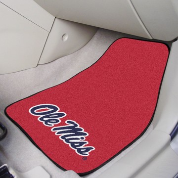 Picture of Ole Miss Carpet Car Mat Set