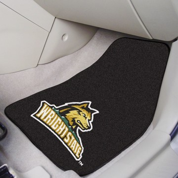 Picture of Wright State Carpet Car Mat Set