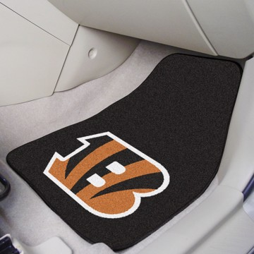Picture of NFL - Cincinnati Bengals Carpet Car Mat Set