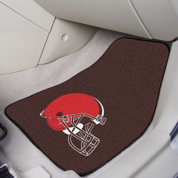 Picture of NFL - Cleveland Browns Carpet Car Mat Set