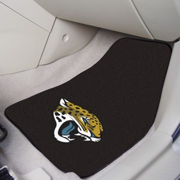 Picture of NFL - Jacksonville Jaguars Carpet Car Mat Set