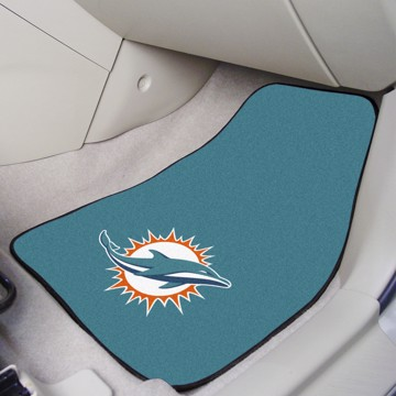 Picture of NFL - Miami Dolphins Carpet Car Mat Set