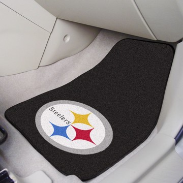 Picture of NFL - Pittsburgh Steelers Carpet Car Mat Set