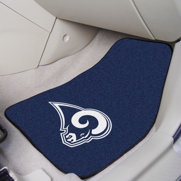 Picture of NFL - Los Angeles Rams Carpet Car Mat Set