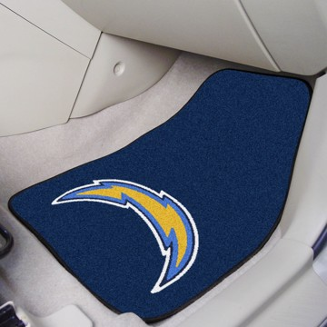 Picture of NFL - Los Angeles Chargers Carpet Car Mat Set