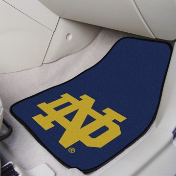Picture of Notre Dame Carpet Car Mat Set