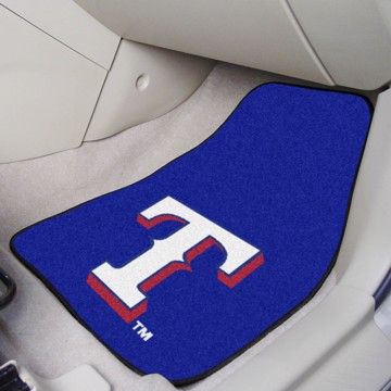 Picture of MLB - Texas Rangers Carpet Car Mat Set