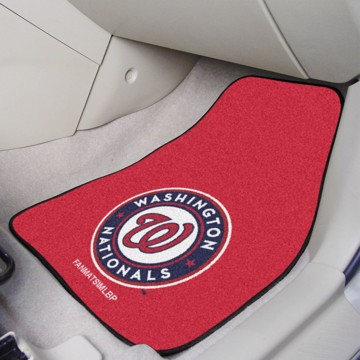 Picture of MLB - Washington Nationals Carpet Car Mat Set