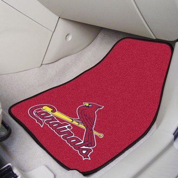 Picture of MLB - St. Louis Cardinals Carpet Car Mat Set