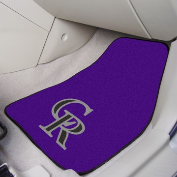 Picture of MLB - Colorado Rockies Carpet Car Mat Set
