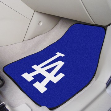Picture of MLB - Los Angeles Dodgers Carpet Car Mat Set