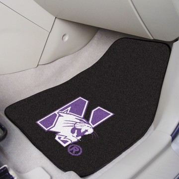 Picture of Northwestern Carpet Car Mat Set