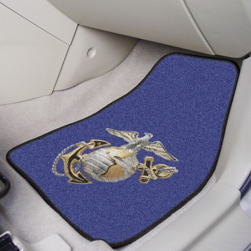 Picture of U.S. Marines Carpet Car Mat Set