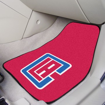 Picture of NBA - Los Angeles Clippers Carpet Car Mat Set
