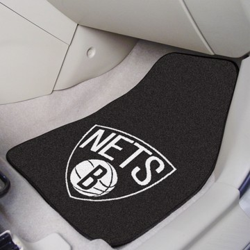 Picture of NBA - Brooklyn Nets Carpet Car Mat Set