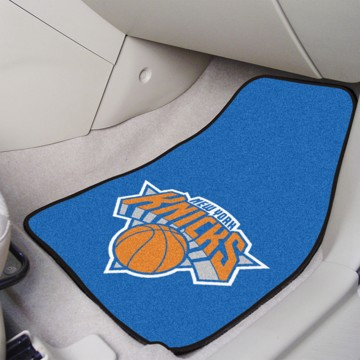 Picture of NBA - New York Knicks Carpet Car Mat Set