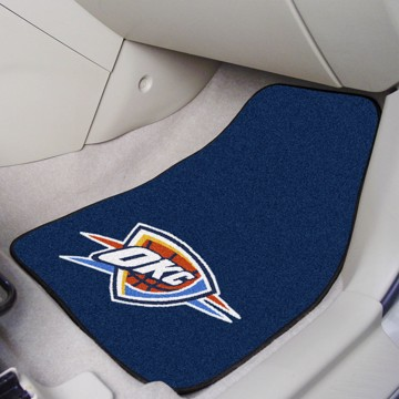 Picture of NBA - Oklahoma City Thunder Carpet Car Mat Set