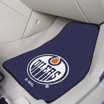 Picture of NHL - Edmonton Oilers Carpet Car Mat Set