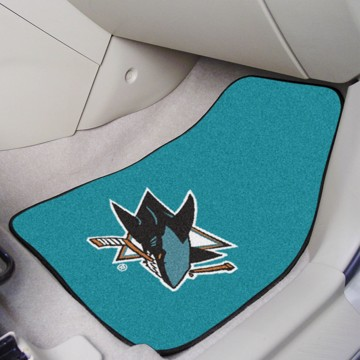 Picture of NHL - San Jose Sharks Carpet Car Mat Set