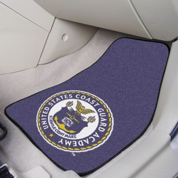 Picture of U.S. Coast Guard Academy Carpet Car Mat Set