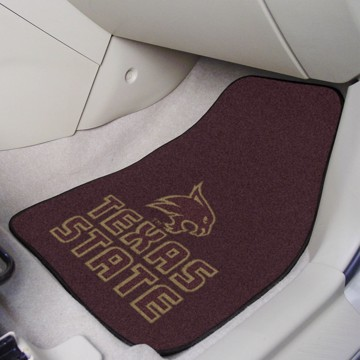 Picture of Texas State Carpet Car Mat Set