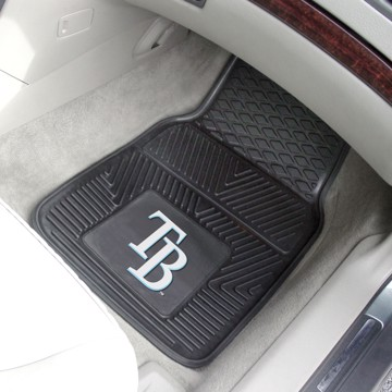 Picture of MLB - Tampa Bay Rays Vinyl Car Mat Set