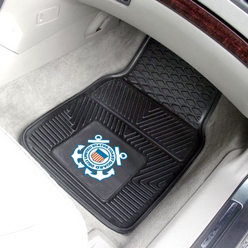 Picture of U.S. Coast Guard Vinyl Car Mat Set