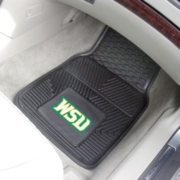 Picture of Wright State Vinyl Car Mat Set