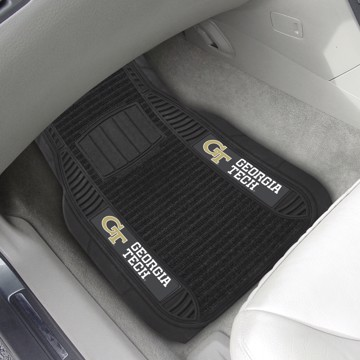 Picture of Georgia Tech Deluxe Car Mat Set