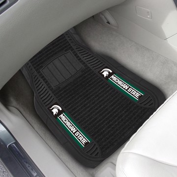 Picture of Michigan State Deluxe Car Mat Set