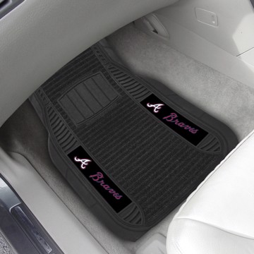 Picture of MLB - Atlanta Braves Deluxe Car Mat Set