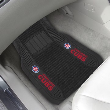 Picture of MLB - Chicago Cubs Deluxe Car Mat Set