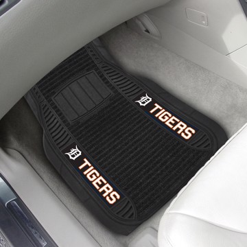 Picture of MLB - Detroit Tigers Deluxe Car Mat Set