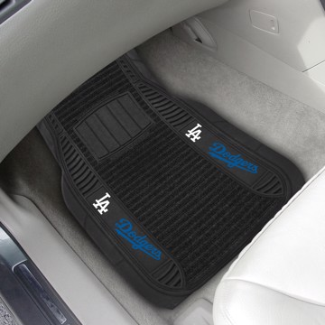 Picture of MLB - Los Angeles Dodgers Deluxe Car Mat Set