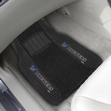 Picture of MLB - Milwaukee Brewers Deluxe Car Mat Set