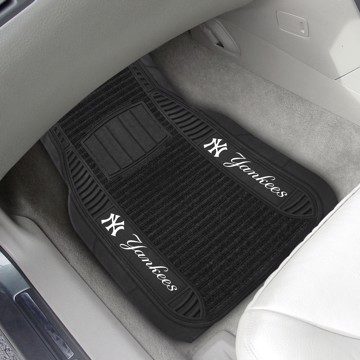 Picture of MLB - New York Yankees Deluxe Car Mat Set