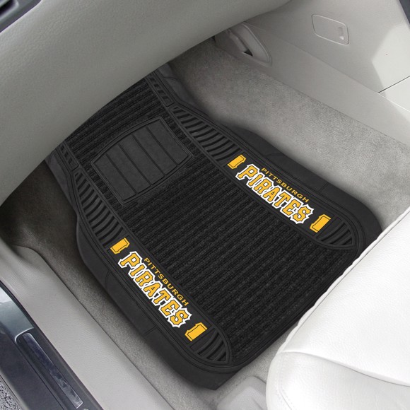 Picture of MLB - Pittsburgh Pirates Deluxe Car Mat Set
