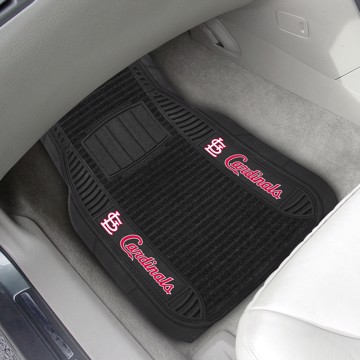 Picture of MLB - St. Louis Cardinals Deluxe Car Mat Set