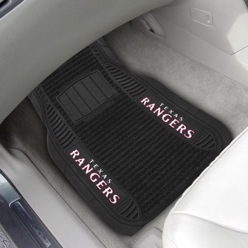 Picture of MLB - Texas Rangers Deluxe Car Mat Set