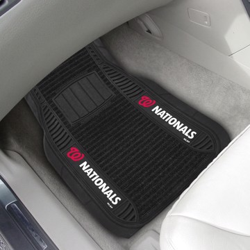 Picture of MLB - Washington Nationals Deluxe Car Mat Set