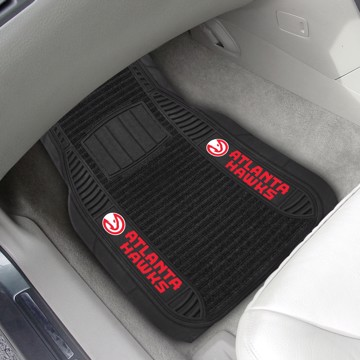 Picture of NBA - Atlanta Hawks Deluxe Car Mat Set