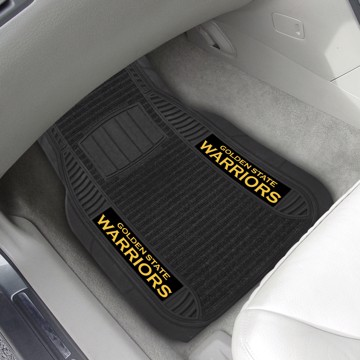 Picture of NBA - Golden State Warriors Deluxe Car Mat Set