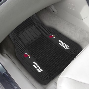 Picture of NBA - Miami Heat Deluxe Car Mat Set