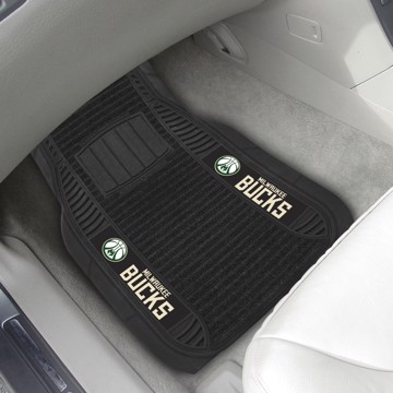 Picture of NBA - Milwaukee Bucks Deluxe Car Mat Set