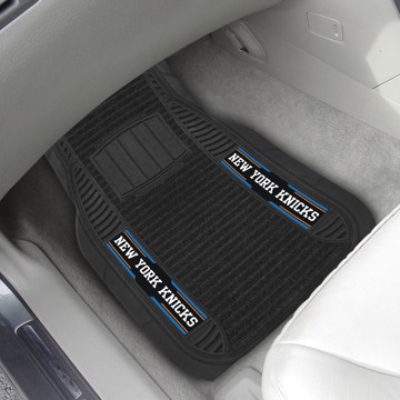 Picture of NBA - New York Knicks Deluxe Car Mat Set