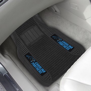 Picture of NFL - Carolina Panthers Deluxe Car Mat Set